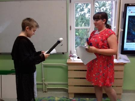 Inscenizacja mitu o Demeter i Korze