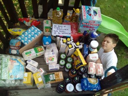 WOLONTARIAT - zbiórka  żywności dla