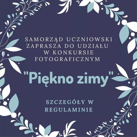 Rozstrzygnięcie  konkursu fotograficznego ''PIĘKNO ZIMY''